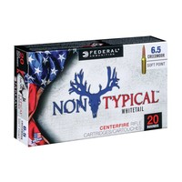 Federal Federal Non-Typical Whitetail 6.5 Creedmoor 140 Grain SP (#65CDT1)