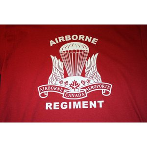Poco Miltary Canadian Airborne Regiment T-Shirt