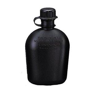 Rothco 1 Quart Plastic Canteen Black (BPA Free) (New)