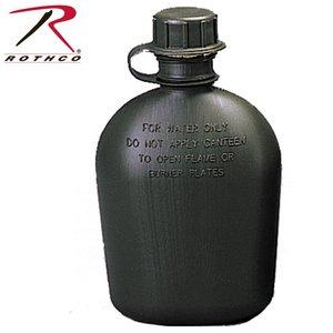 Rothco 1 Quart Plastic Canteen Olive Drab (BPA Free) (New)
