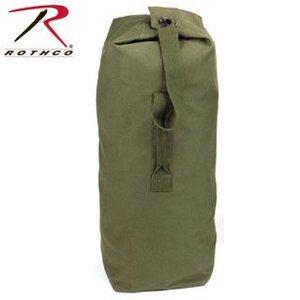"Rothco Olive Drab Heavyweight Top Load Canvas Duffle Bag (25"" x 42"") #3495"