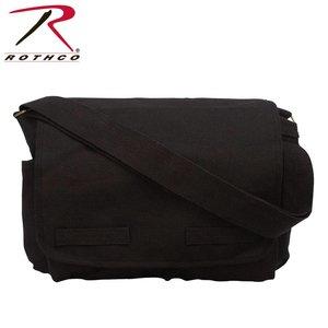 Rothco Rothco Vintage Shoulder Messenger Bag (Black) #9118