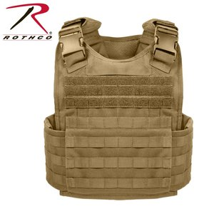 Rothco Rothco Plate Carrier - Coyote Tan (#8923)