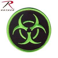Poco Miltary Bio-Hazard Patch (Velcro) Black / Green