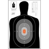 Law Enforcement Targets B-27E Pros Target (B27-E)
