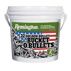 Remington Remington Golden Bullet Bucket O'Bullets- . 22LR (1400 Rounds)
