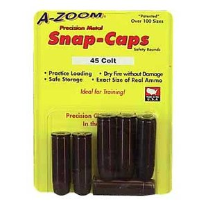 A-Zoom A-Zoom 45 COLT Snap Caps (#16124) 6 Pack