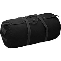 "World Famous World Famous Paratrooper Duffle Bag (Black) 14"" x 29"""
