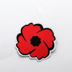 "CANEX Royal Legion Poppy Magnet (4"")"