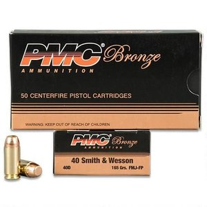 PMC PMC Bronze 40 S&W (165 Grain) 40D