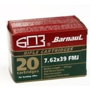 Barnaul Barnaul 7.62x39mm 123 Grain FMJ
