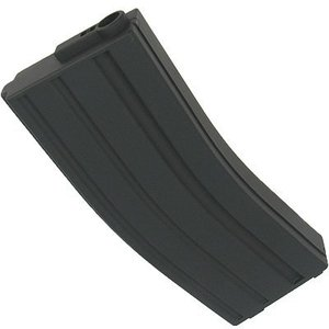 King Arms M4 Airsoft Magazine (120 Rds) Mid-Cap - Black