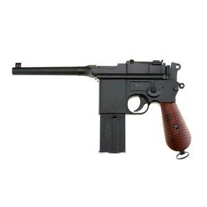 Umarex M712 Broomhandle - Steel BB Hand Gun (Blowback) Full Auto