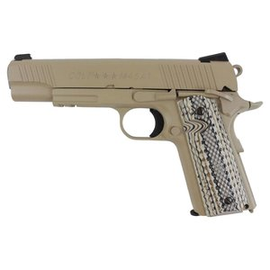Cybergun Colt 1911 Rail Gun TAN (Airsoft Pistol Co2) Cybergun #180521