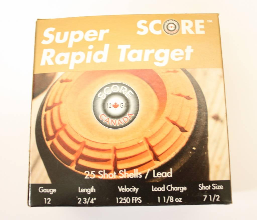 Score Super Rapid Target 12 Gauge 2-3/4