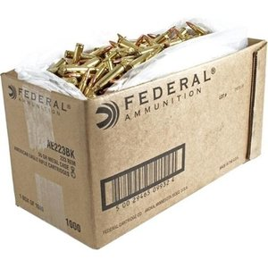 American Eagle American Eagle 223 Remington 55 Grain FMJ - Case of 1000 Rounds (#AE223BK)