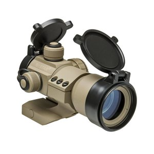 NcStar NcStar 1x35mm TAN Cantilever Dot Sight Red/Green/Blue Reticle - Black (DRGB135T)