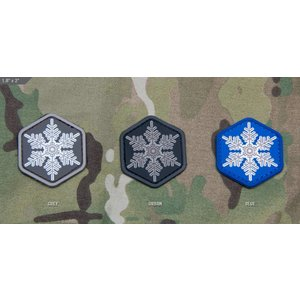 Milspec Monkey Snowflake PVC Patch