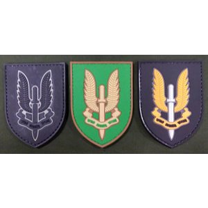 China SAS Who Dares Wins PVC Patch