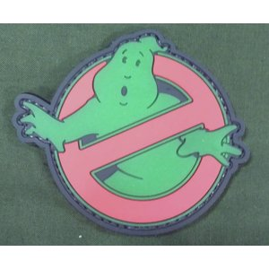 China Ghostbusters PVC Patch