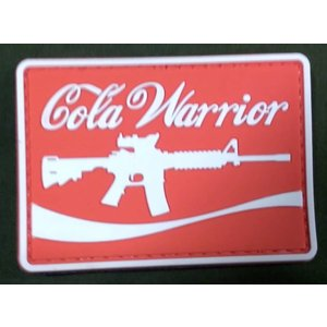 Cola Warrior PVC Patch