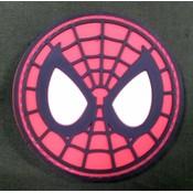 China Spiderman Mask PVC Patch