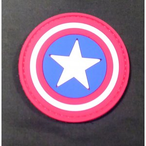 China Captain America Shield PVC Patch
