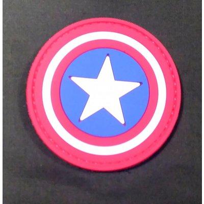 China Captain America Shield PVC Patch