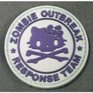 China Hello Kitty Zombie Response Team PVC Patch