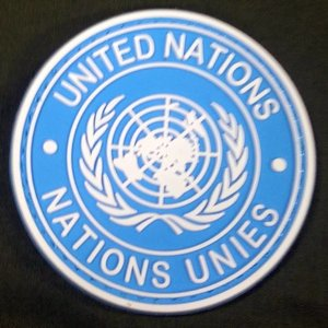 China United Nations PVC Patch