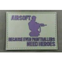 China Airsoft Heroes PVC Patch