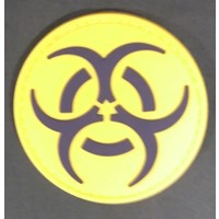 China Biohazard PVC Patch