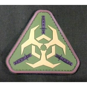 China Zombie Outbreak PVC Patch