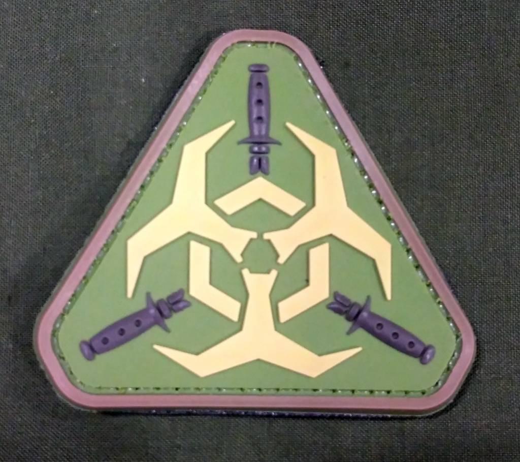 Zombie Outbreak PVC Patch - Poco Military