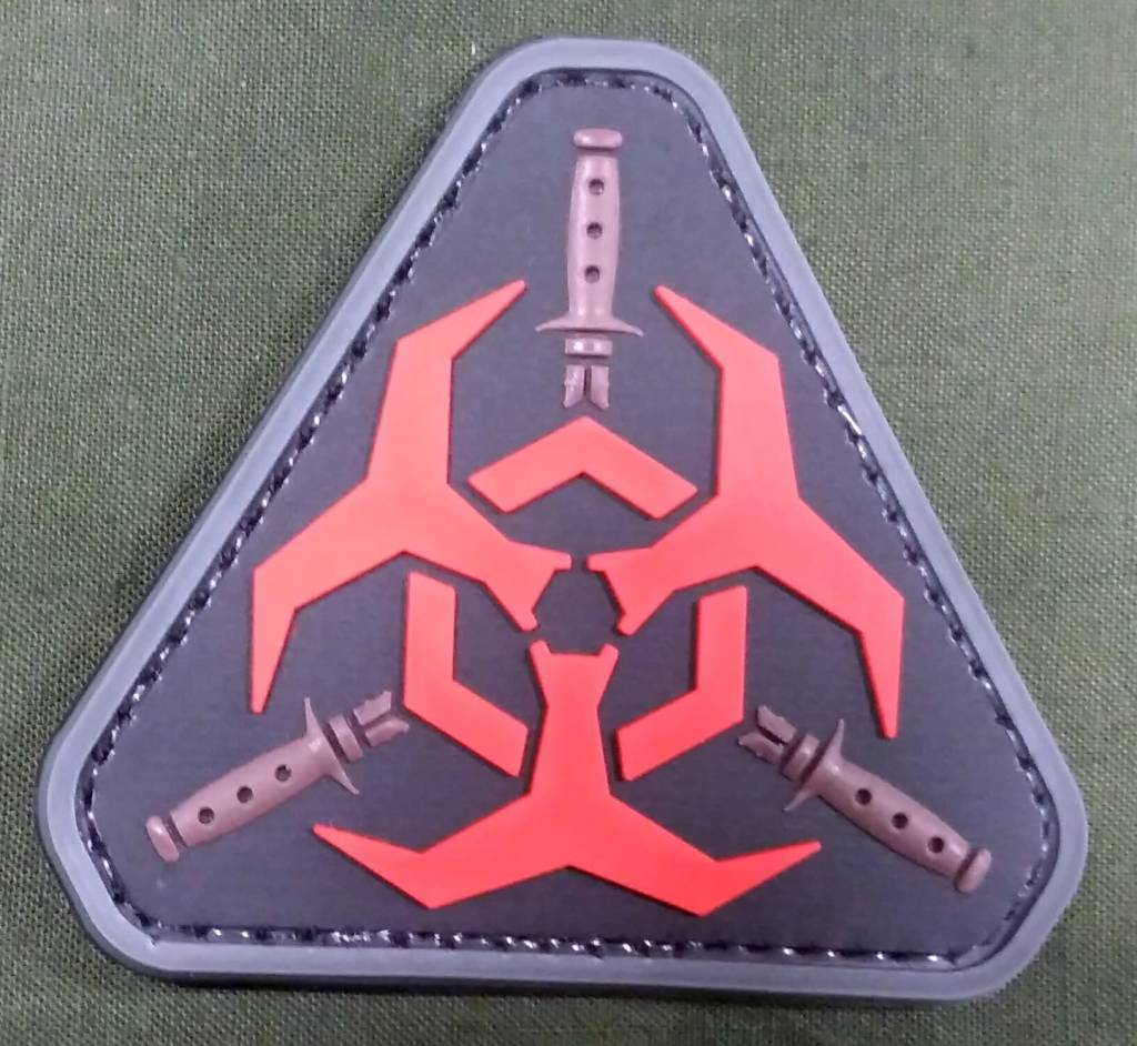 Zombie Outbreak PVC Patch - Poco Military and Outdoor