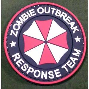 China Umbrella Zombie Response Team PVC Patch