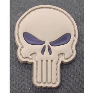 Punisher Skull PVC Patch