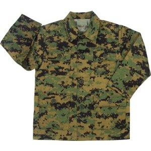 Rothco Kid's MARPAT BDU Shirt (Woodland Digital)