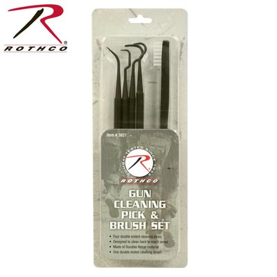 Rothco Rothco Gun Cleaning Pick & Brush Set (3821)
