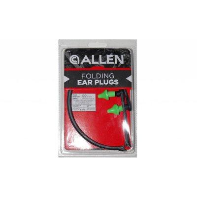 Allen Company Allen Folding Ear Plugs - Green (2296)