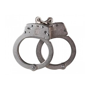 Smith & Wesson Smith & Wesson Model 100-1 Nickel Handcuffs (Chain)