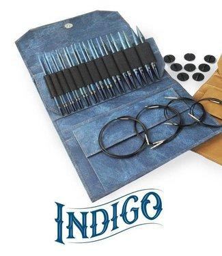 """LYKKE Driftwood Indigo 3.5"""" Circular Needle Set"""