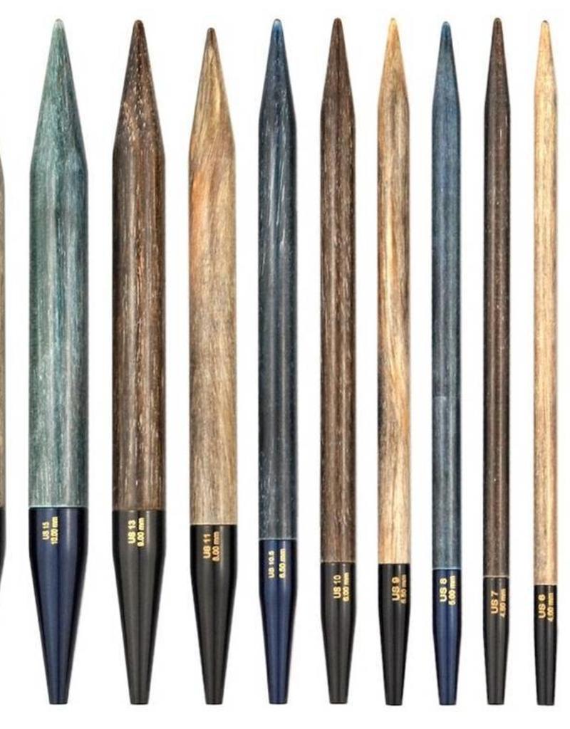 """LYKKE Driftwood Umber 3.5"""" IC Needle Tips"""