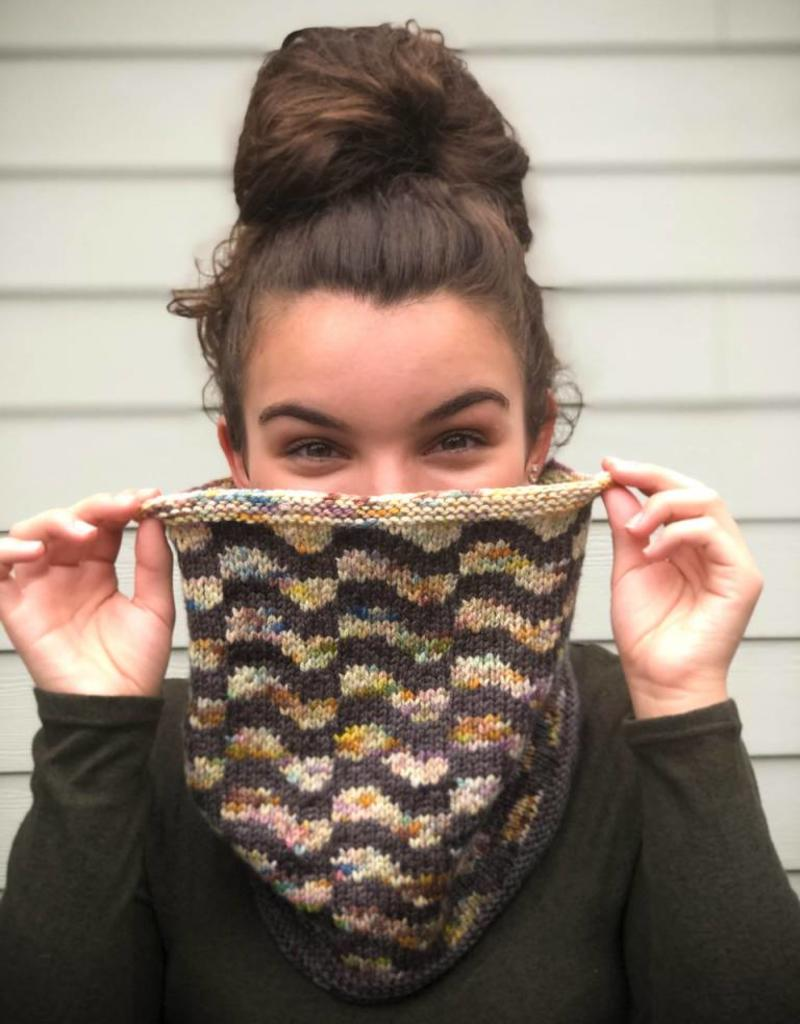 Suburban Warrior Cowl by Tanis Gray