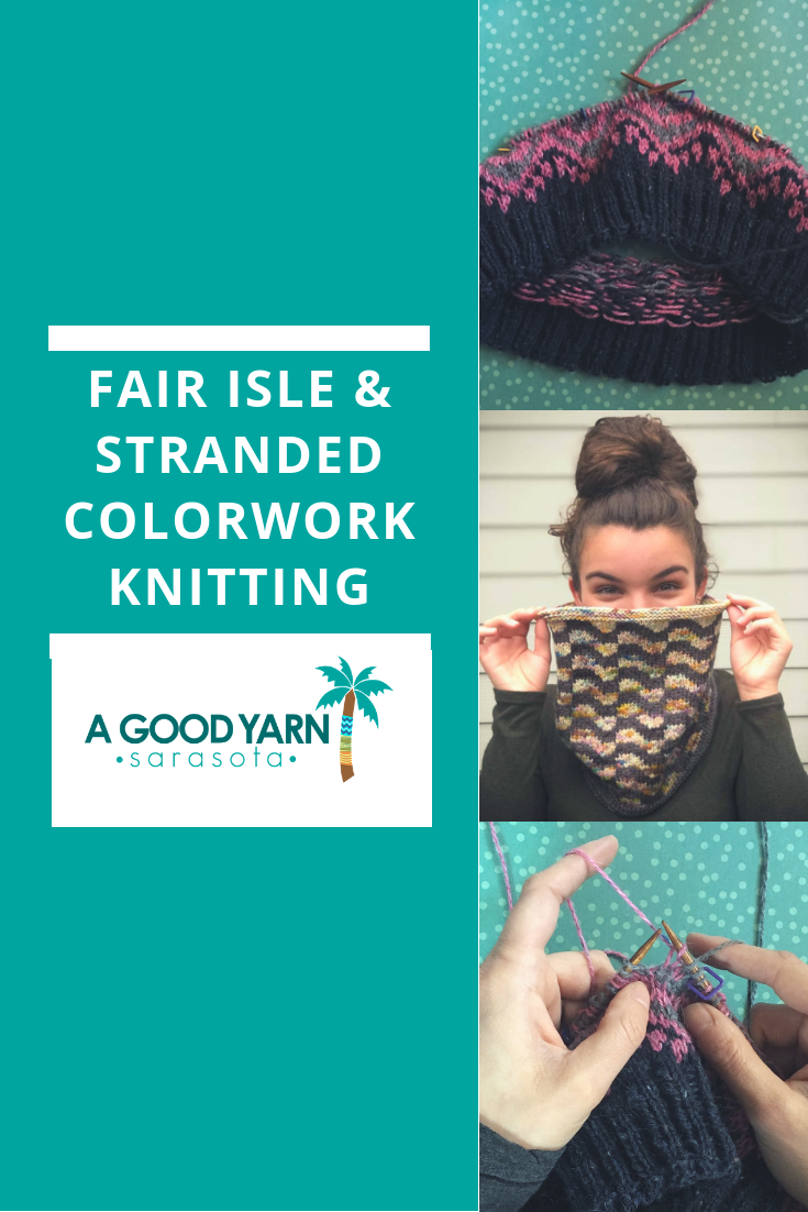 colorwork knitting tips from a good yarn sarasota