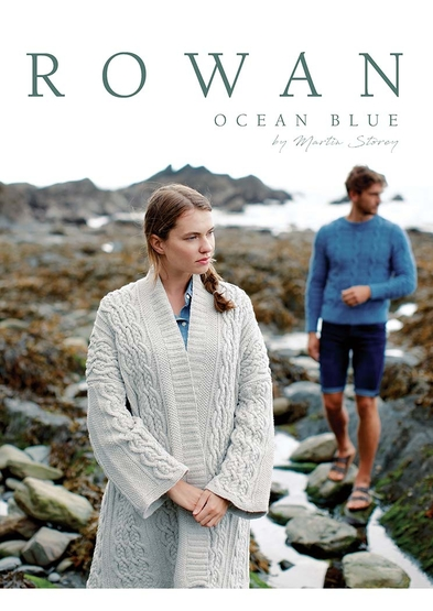 Ocean Blue Pattern Collection from Rowan Yarns