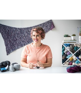 Meet Knit Graffiti! aka Lesley Anne Robinson