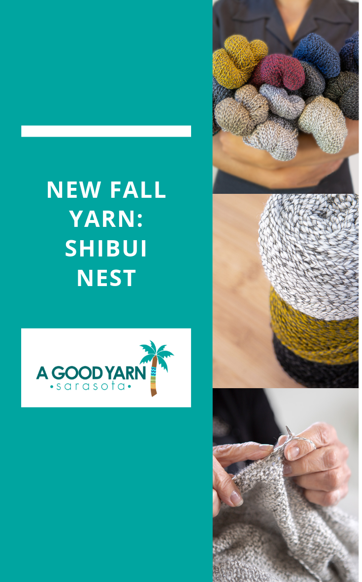 ShiBui Nest at A Good Yarn Sarasota