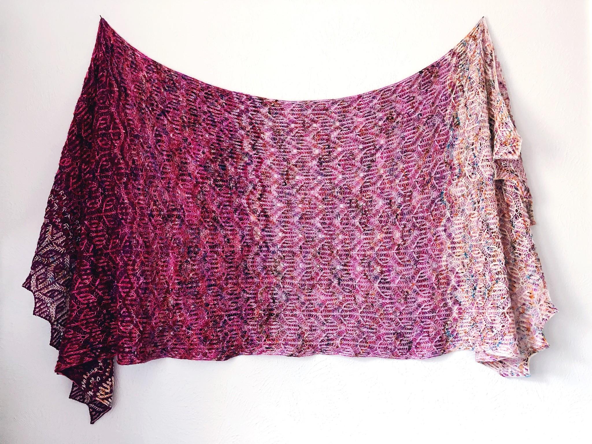 sizz shawl knitting pattern