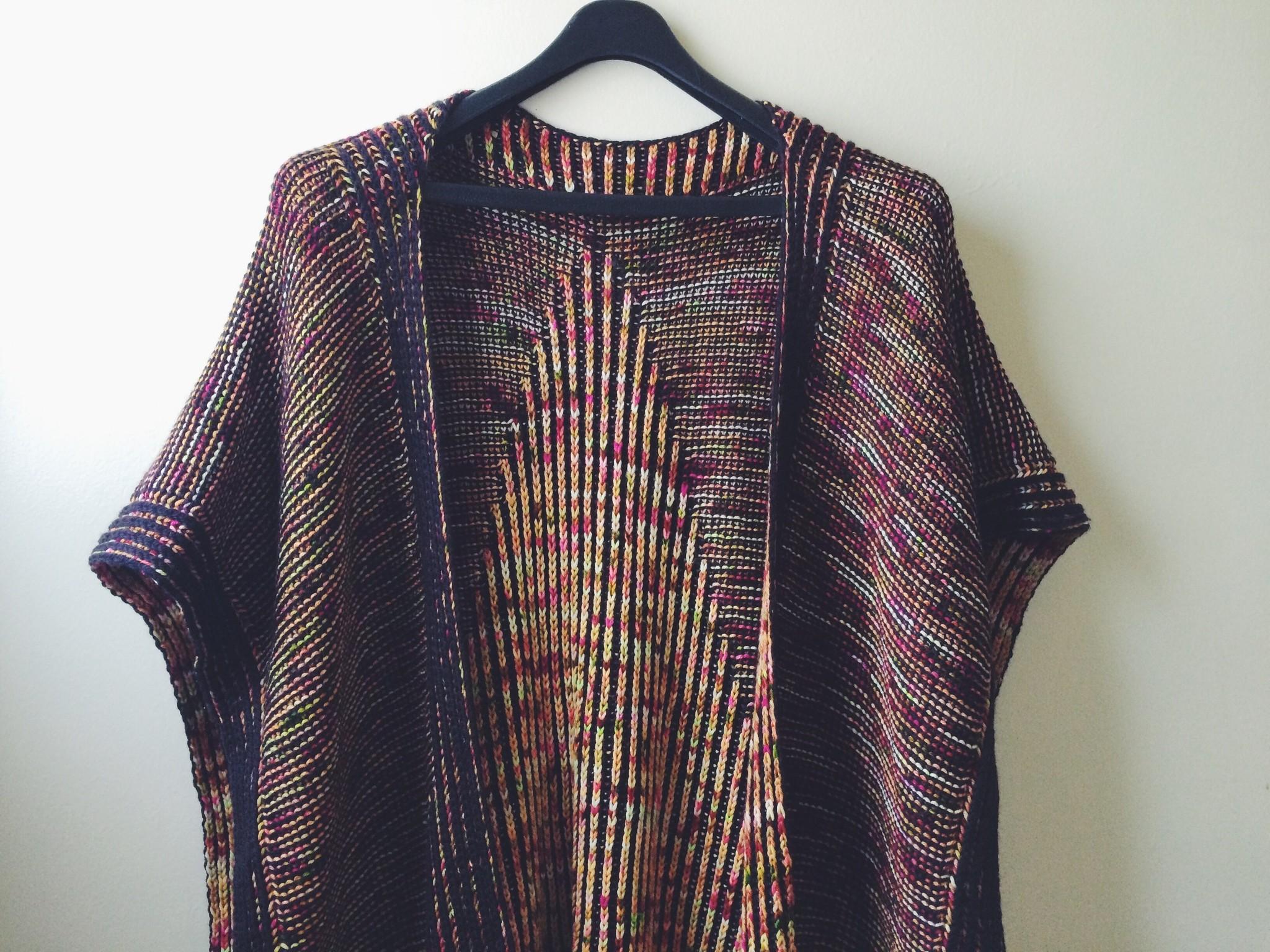midnight madness brioche knitting pattern